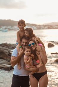 ensaio familia na praia, ensaio na praia, bombinhas, cook mella