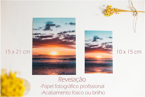 Revelação de fotos - A partir de 50 unidades