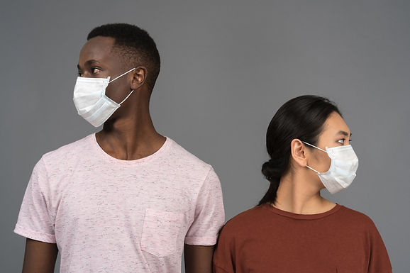 Masks and Social Distancing - The Science Behind