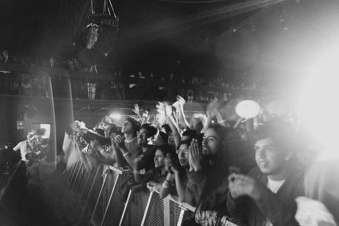 music-black-and-white-photography-crowd-