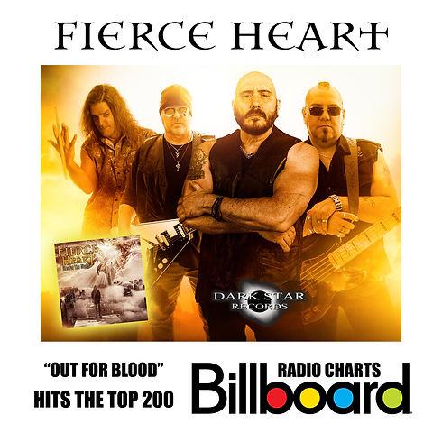 Fierce Heart Billboard Chart Announcemen