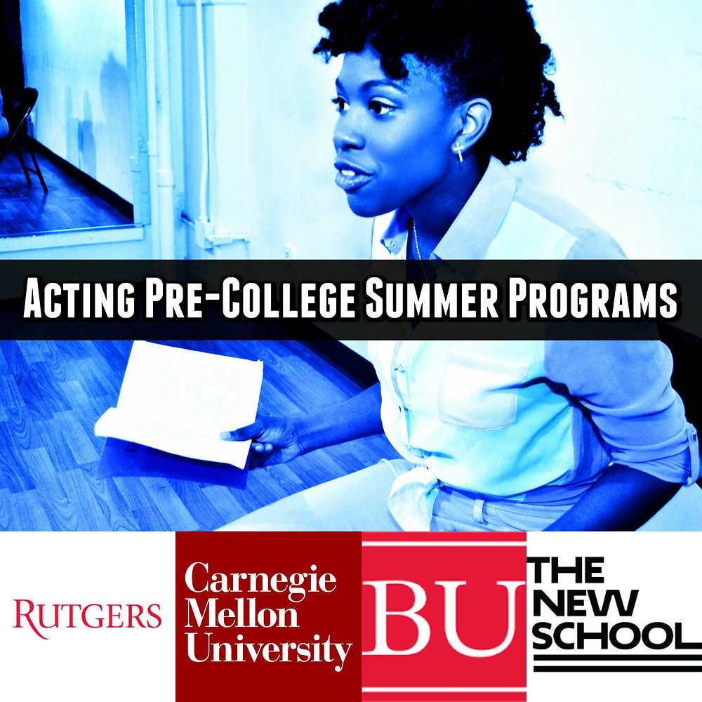 Acting Pre-College Summer Programs