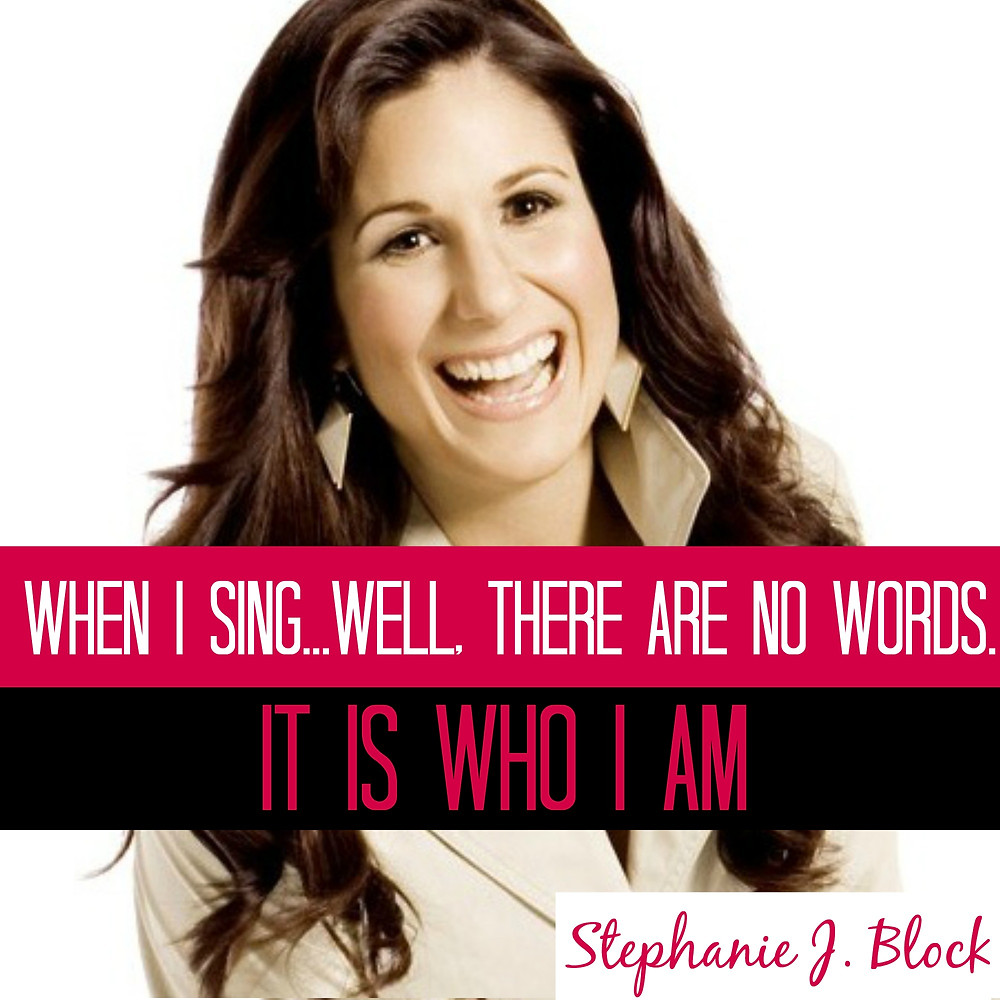 Stephanie J. Block Best Featured Actress in a Musical