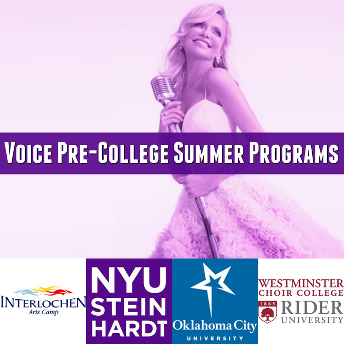 Voice Pre-College Summer Programs