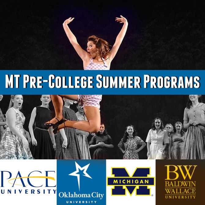 Musical Theatre Pre-College Summer Programs
