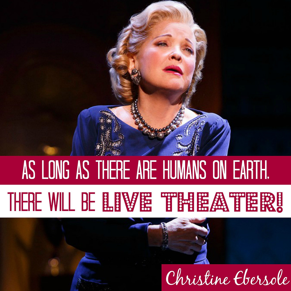Christine Ebersole Best Actress in a Musical