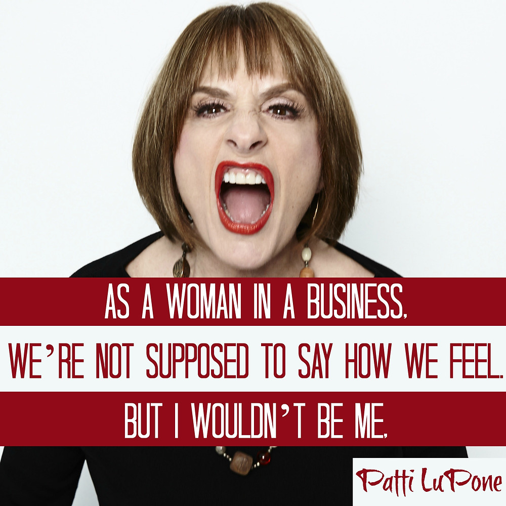Patti LuPone Best Actress in a Musical
