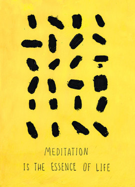 25 Meditation is the essence of Life cop