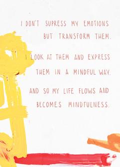 32b I transform my emotions into creativ