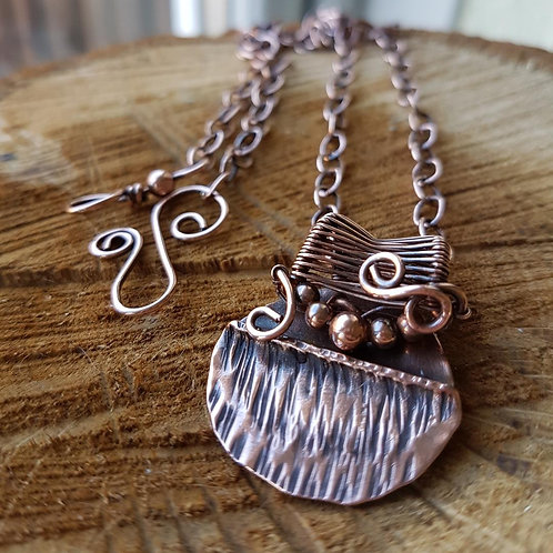 Solid Copper Necklace