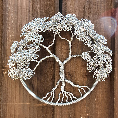 """Tree of life wall hanging, 6"""" hoop, suitable for wall hanging single sided"""
