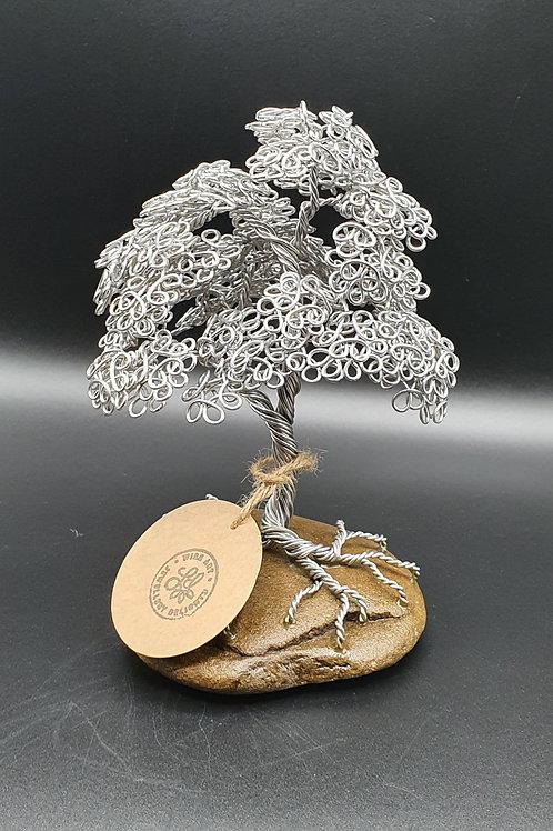 Small Aluminium Summer Leaf Miniature Tree
