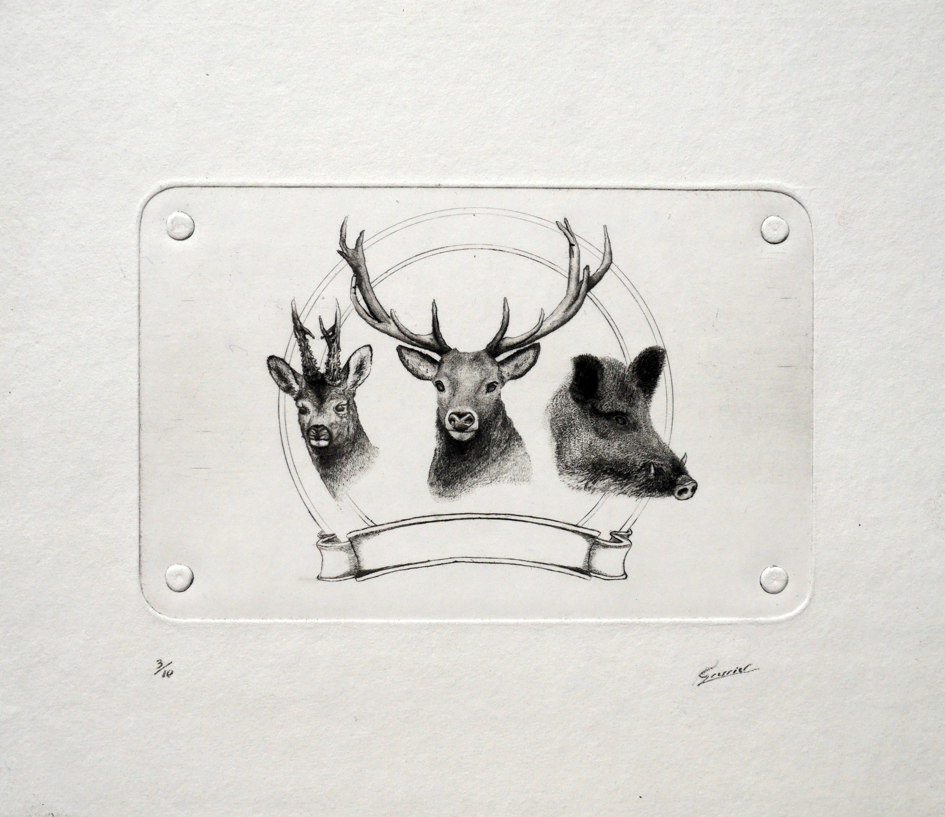 trio de chasse
