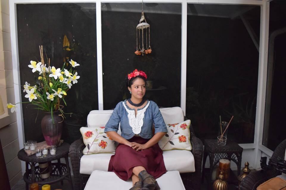 My Frida Kahlo Costume :)