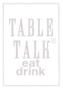 Tabletalk Homepage - Table talk menu