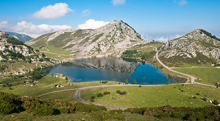 Lagos de Covadonga, Asturias, Spain, road cycling camps, luxury cycling holidays in Spain, guided tours, www.ridingspain.com