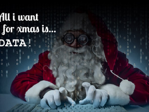 Natale e dati, un binomio vincente