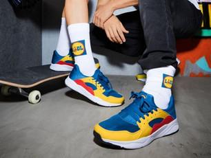 Sneakers Lidl: un successo che parla di marketing