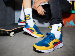 Sneakers Lidl: un successo che parla di marketing