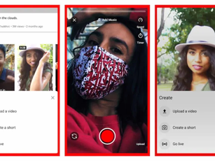YOUTUBE SHORTS: LA RISPOSTA DI GOOGLE A TIK TOK e REELS