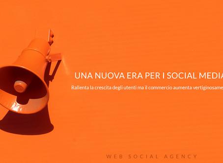 Una nuova era per i social media sta iniziando.