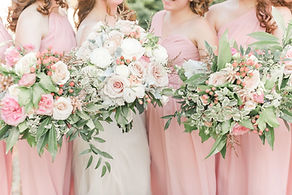Bridal Bouquet, Bridesmaids Bouquets by Good Earth Flowers and Events