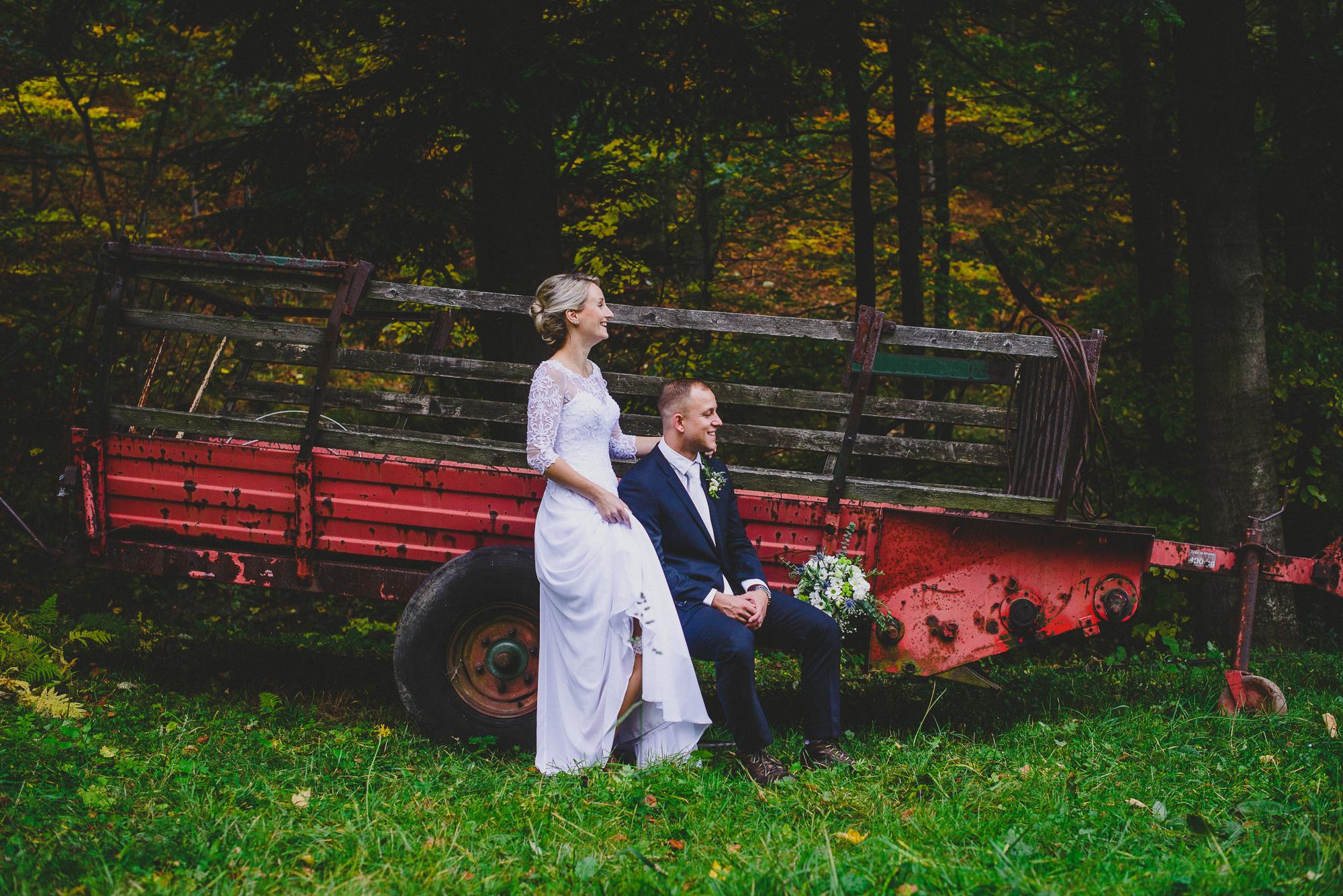 svatba Barunky a Tomáš
