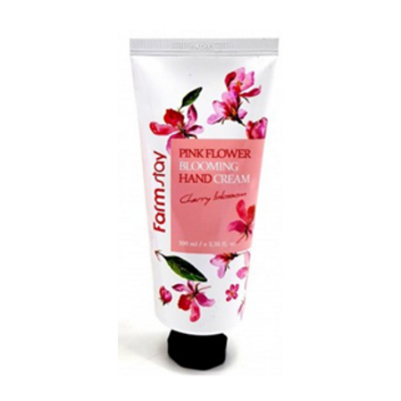 FARM STAY Pink Flower Blooming Hand Cream (cherry blossom) 100ml (25% OFF)