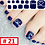 Thumbnail: DIY GEL NAIL PEDICURE STICKERS (40% OFF)