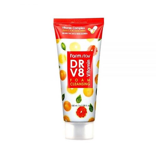 FARM STAY  DRV8 Vitamin Cleansing Foam 100ml (10% OFF)
