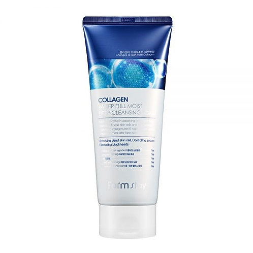 FARM STAY Collagen Water Full Moist Deep Cleansing Foam 180ml (20% OFF)