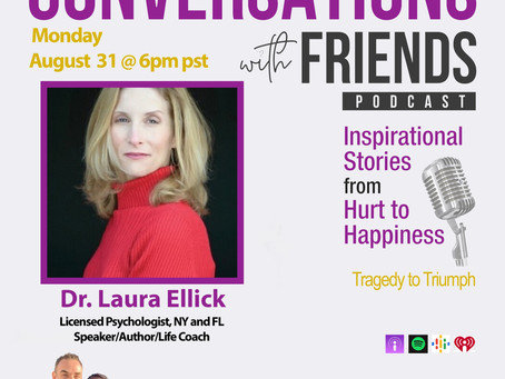 Dr. Laura Ellick is a guest speaker on Conversations with Friends podcast
