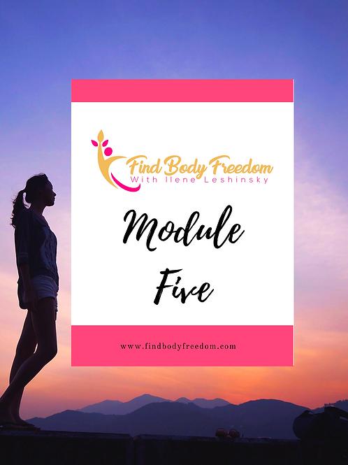 Find Body Freedom Program Module Five