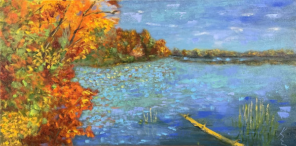 Fall at Great Pond by Kate Emery.jpg