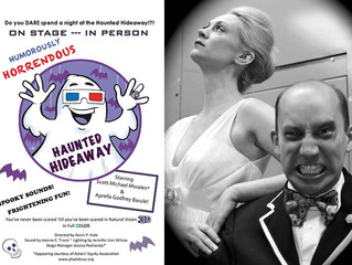 Humorously Horrendous Haunted Hideaway hits the NYC Fringe