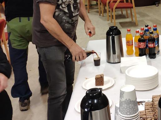 Stor entusiasme for kaffe, kaker og bredbånd!