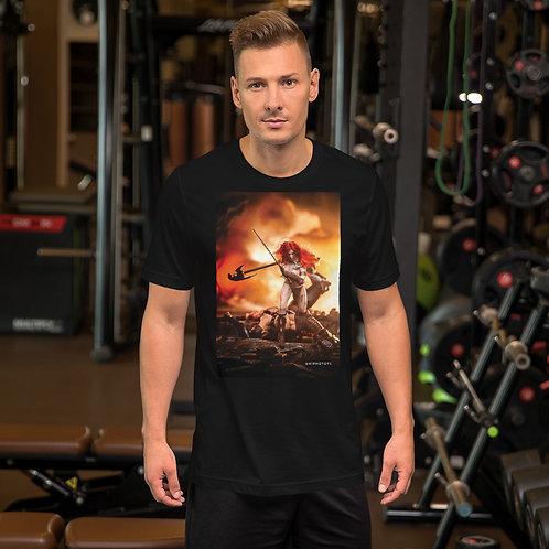 Red Sonja by Firdaus R-Short Sleeve Unisex T-Shirt
