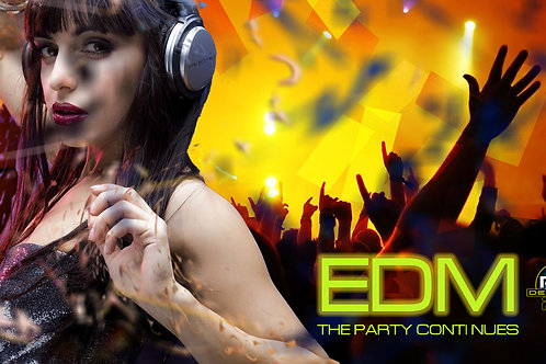 EDM-The Party Continues (size 1920x1080mp)