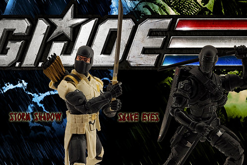 Snake Eyes and Storm Shadow2 (size 3840x2160mp)
