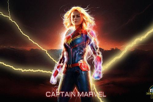 Captain Marvel (size 1920x1080mp)