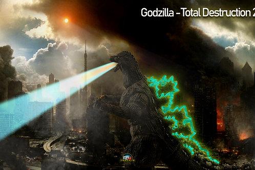 Godzilla Total Destruction (size in 3840x2160mp)