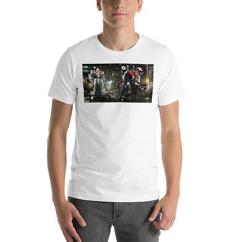 RICK HUNTER-VF-1J VS VF1J BATTLE ARMORED-Sleeve Unisex T-Shirt
