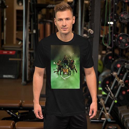TMNT by Aldo Farfan-Short Sleeve Unisex T-Shirt