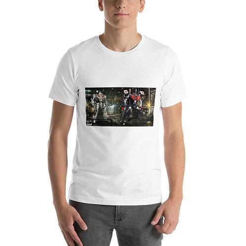 RICK HUNTER-VF-1J VS VF1J BATTLE ARMORED Short-Sleeve Unisex T-Shirt