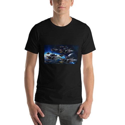 Skull Squadron On Patrol Unisex T-Shirt copy
