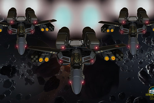 Stealth Skull Sqaudron (size 1920x1080mp)