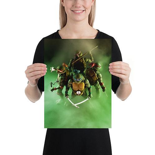 TMNT by Aldo Farfan- Size 12 x 16 inches