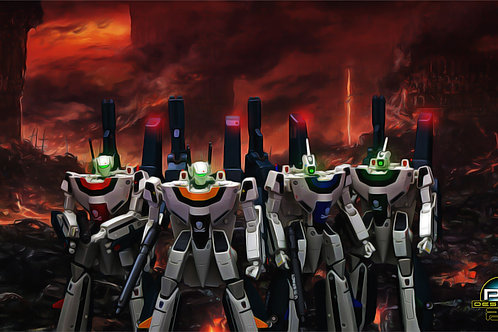Macross Super Valkyries Ultimate Painting (size 1920x1080mp)