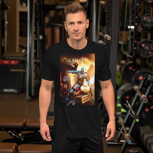 GladiatorKorg Run by Firdaus R-Short Sleeve Unisex T-Shirt