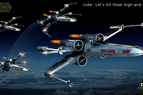 Star Wars_ X-Wing Fighters (size 1920x1080mp)